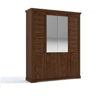 Кантри шкаф 4Д риббек темный
