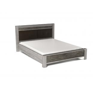 Денвер кровать с мягким изголовьем 1600