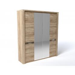 Магнолия шкаф 4Д